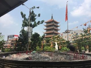 TNK トラベル 旅ぷら 永厳寺(ヴィンギエム寺)お香.JPG